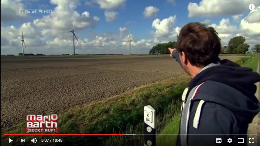 Mario Barth Windkraft Dithmarschen