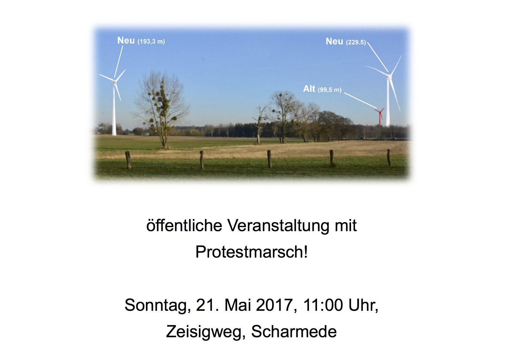 Windenergie in Scharmede